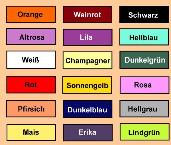 e2b13bd1defe Schärpe in verschiedenen Farben unbedruckt